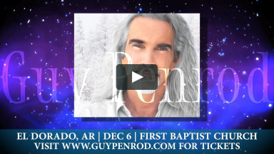 Christmas and More with Guy Penrod: December 6th, 2019 in El Dorado, AR!