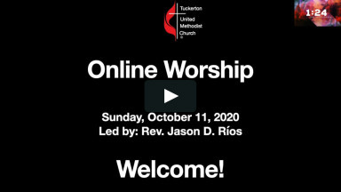 Online Worship October 11