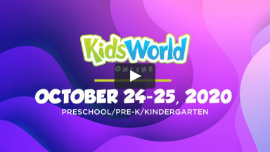 KidsWorld Online October 24-25 2020 (Pre-K/Preschool/Kindergarten)