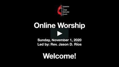 Spiritual Heroes - Online Worship November 1, 2020