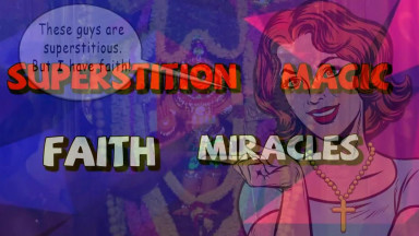Superstition Vs Faith