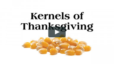 Kernals of Thanksgiving Worship Service From Sunday, November 22, 2020