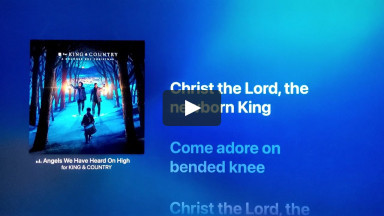 Angels We Have Heard On High - BY for KING & COUNTRY | Christmas Songs Christian Music