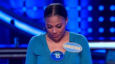Khristina and BJ crush Fast Money!   Family Feud