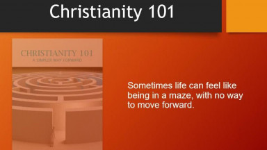 Christianity 101: A Simpler Way Forward