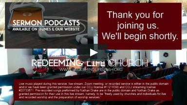 Redeeming Life Church Service Live-Stream, 12/27/2020