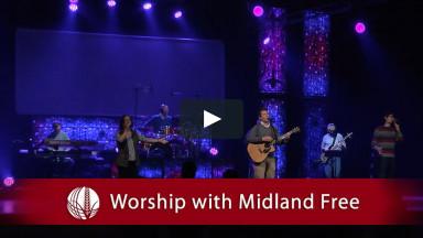 January 3, 2021 - Worship with Midland Free