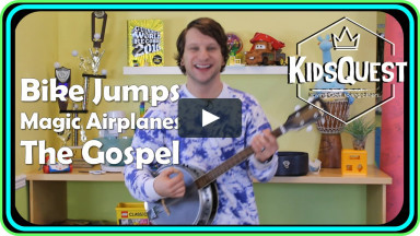 KidsQuest Online - Bike Jumps, Magic Airplanes & The Gospel - January 9-10 2021