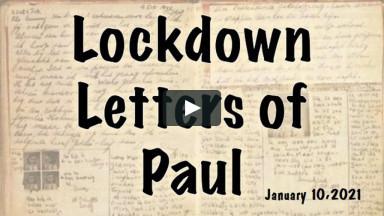 Lockdown Letters - Jan 10 2021