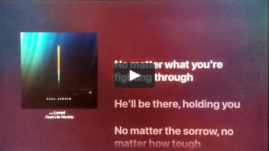 Loved - Fresh Life Worship - From the Album Fall Afresh at cconlinechurch.com