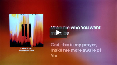 More of You - Hillsong Young & Free - From the Album III | cconlinechurch.com