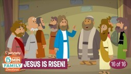 Jesus is Risen - JellyTelly 5 Minute Family Devotional