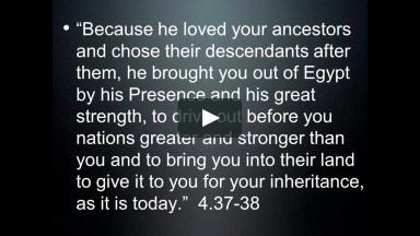 """Choose Life"": Deuteronomy teaching day - Part 2"