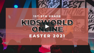 KidsWorld Online April 3-4th 2021 EASTER (1st-5th grade)