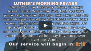 April 11, 2021 - 10:30 AM - Risen Savior Lutheran Church - Wichita, KS - Sunday Morning Worship (Recorded)