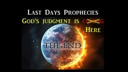 2018...Current Events Linked To Biblical Prophecies