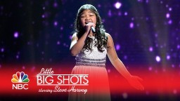 "Little Big Shots - Angelica Sings ""I'll Be There"" (Episode Highlight)"