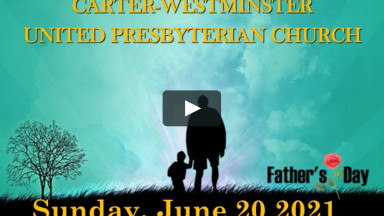 CARTER WESTMINISTER PRESBITERIAN CHURCH