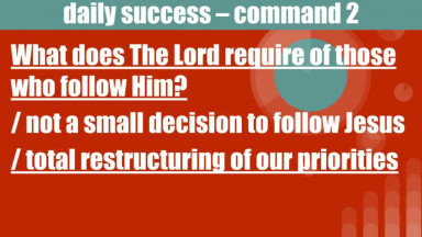 Randy Bell | Command 2 Part 2  Follow Me Matthew 4 19