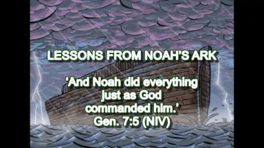 Lessons From Noah's Ark