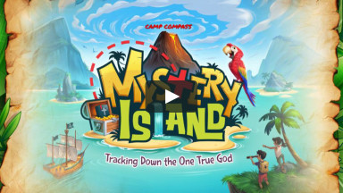 Camp Compass - Mystery Island, Day 1 - God Is Great!