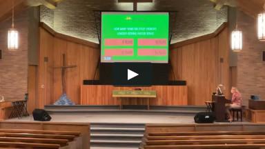 July 25, 2021 | Worship Service