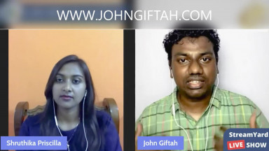 Does GOD still Speak through Visions? Are Visions from GOD Real? John Giftah & Shruthika Priscilla