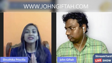 Why are VISIONS from GOD Needed? Why are visions important Christianity (Feat. Shruthika Priscilla)
