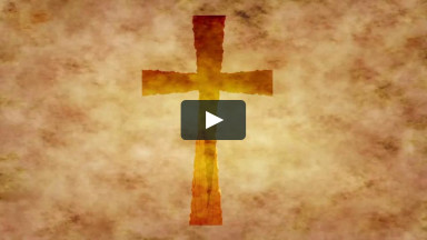 Cross Seamless Loop Background for Worship Church