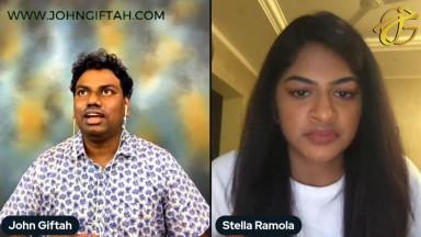 How to Create Relatable Christian Content?  Stella Ramola Dhinakaran on John Giftah Podcast