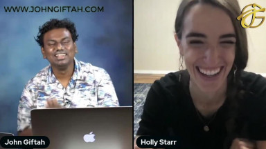 """How to Overcome Identity Crisis & Accept Yourself?  Holly Starr's Story of  """"Through My Father's Eyes"""""""
