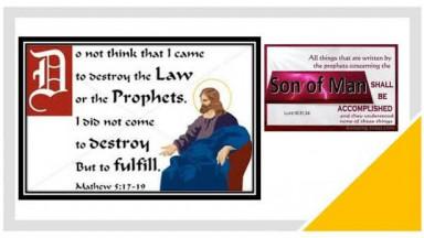 Jesus Christ Fulfilled The LAW & Not Abolish