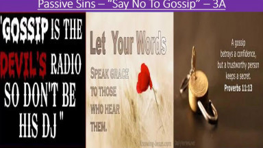 OVERCOME GOSSIP & CONSEQUENCES