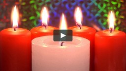 Watch Christmas Video - Long Winter Evenings with Falling Snow and Fireplaces and Christian Harp Music Online | Vimeo On