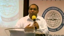Pr.Joy Thomas Worship Service Message Aug -09-2012