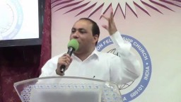 Cry to the Lord for a heavy rain Message by Pr Joy Thomas SFCKuwait