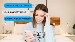 HONEST Q&A - OUR BIGGEST FIGHT, HAVING A BABY, BEING A CHRISTIAN MORE | Jess Conte