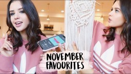 NOVEMBER FAVORITES! Home Decor, Makeup, Music More | Jess Conte