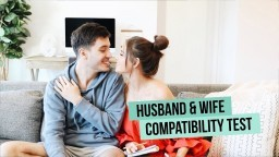 HUSBAND WIFE COMPATIBILITY TEST | Jess & Gabriel Conte