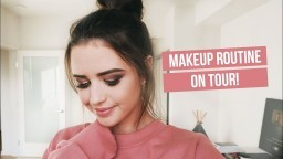 MY MAKEUP ROUTINE ON TOUR | Jess Conte