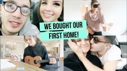 WE BOUGHT OUR FIRST HOME!! SHOWING YOU AROUND LULUS CLOTHING HAUL